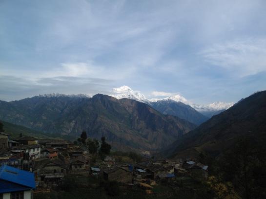 Blick über Shikha